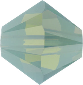 Swarovski Beads 5328 Bicone, 6MM, Pacific Opal - Pack of 20
