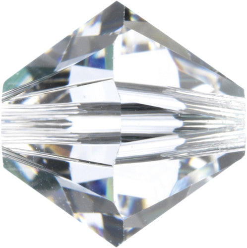 Swarovski Beads 5328 Bicone, 8MM, Crystal - Pack of 10