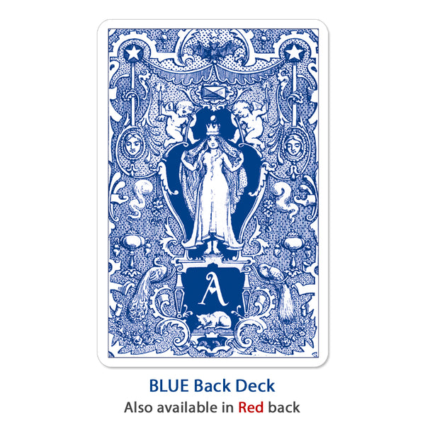 "Alice In Wonderland Playing Cards ""Blue Back"""