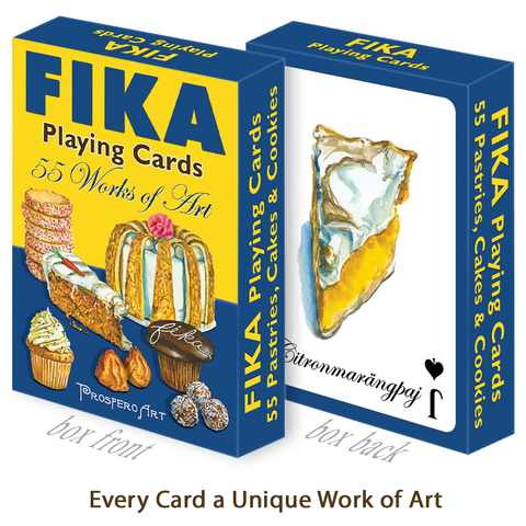 FIKA Playing Cards