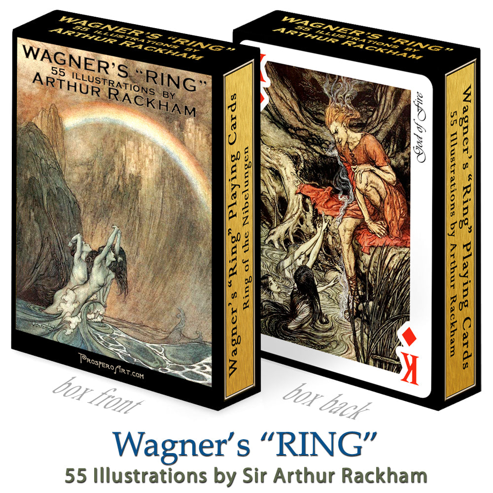 "Wagner's ""Ring"" Playing Cards ~ Ring of the Nibelungen"