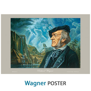 "Wagner Poster - 12"" X 18"" - 100 lb stock"