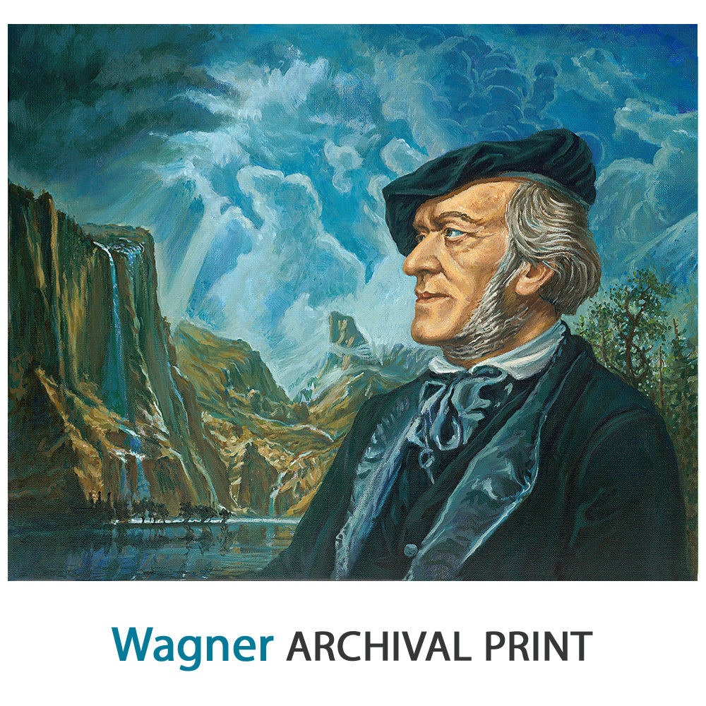 Wagner - Archival Print on Canvas