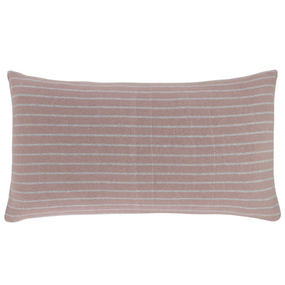 Stripe reversible pillow - Fawn/Grey