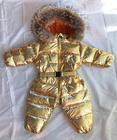 d1b13e36e -30 baby girl jumpsuits Russia winter baby clothing ,-Mother&Baby-10's Store