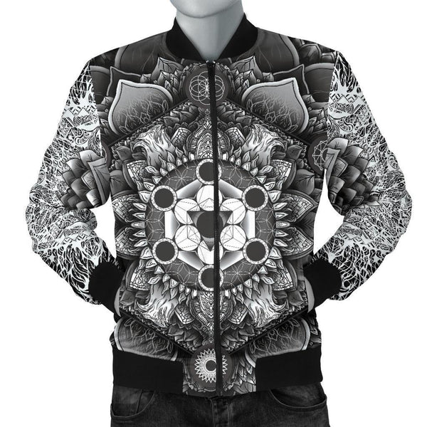 Canny Creations bomber Men's Bomber Jacket - Rose Bloom / S Rose Bloom