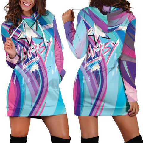 Canny Creations Dress Hoodie Artsy Star