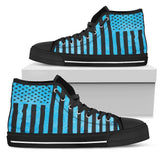 Canny Creations High Tops Mens High Top - Black - American Vintage | Dark / US5 (EU38) American Vintage