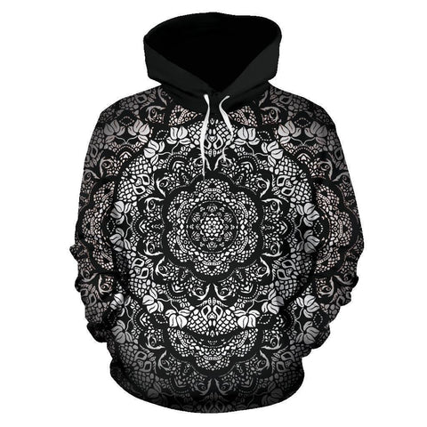 Canny Creations Hoodies Men's Hoodie - Mandala / S Mandala