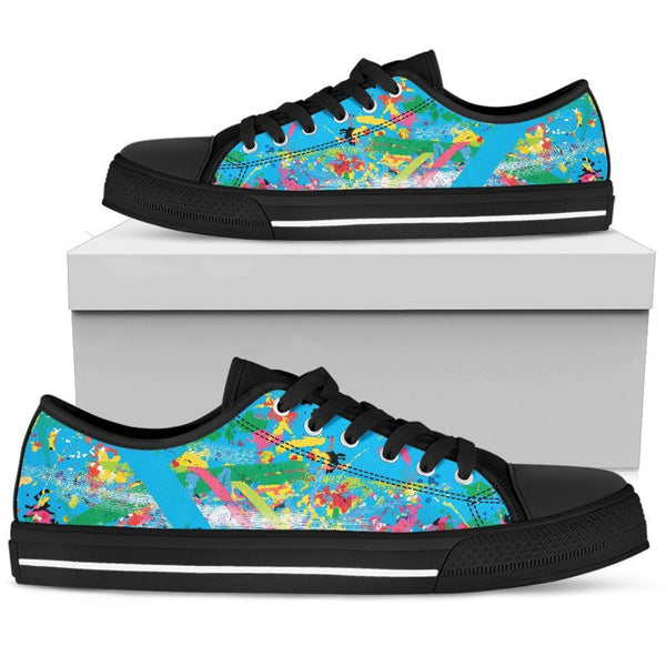 Canny Creations low tops Mens Low Top - Black - Abstract Chaos | Dark / US5 (EU38) Abstract Chaos