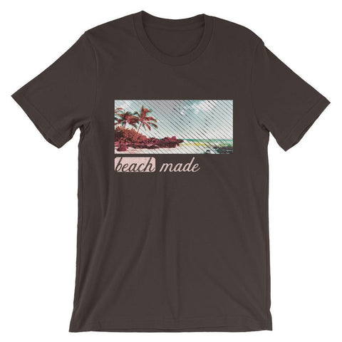 Canny Creations Shirts Brown / S Beach Made