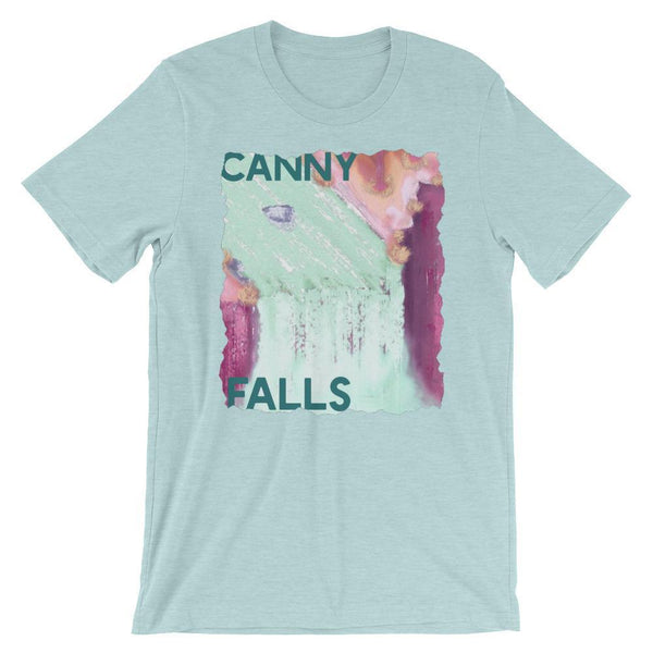 Canny Creations Shirts Heather Prism Ice Blue / S Canny Falls