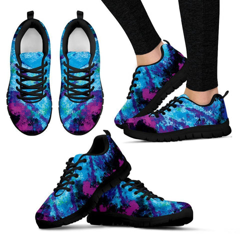 Canny Creations Shoes Women's Sneakers - Black - Popsicle | Dark / US5 (EU35) Popsicle