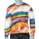 Canny Creations Sweater Abstract Stripes