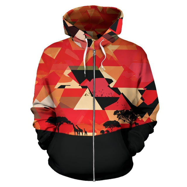 Canny Creations Zip Up Hoodie Men's Zip-Up Hoodie - Africa / S Africa