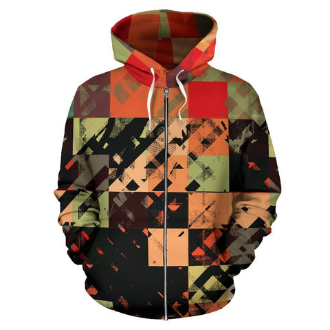 Canny Creations Zip Up Hoodie Patchy