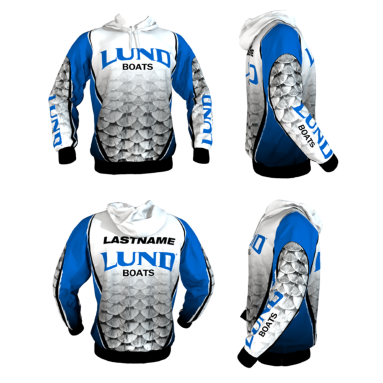 Personalized Lund Hoodie (Style 7)