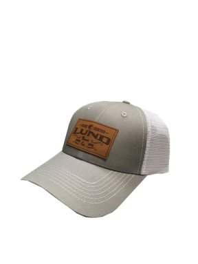 Lund Leather Look Patch Hat