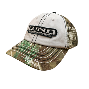 Camo Contrast Stitch Cotton Twill Hat