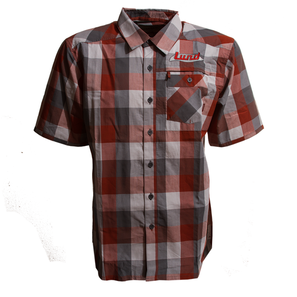 Mens Simms Espirito Block Plaid Shirt