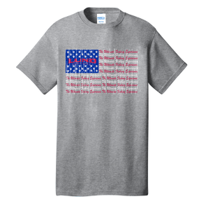 Kids USA Flag Tee