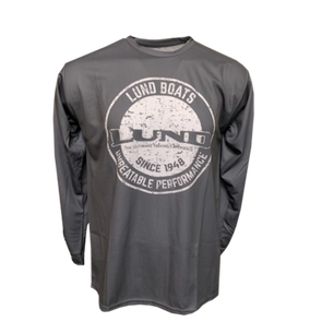 Lund Medallion Long Sleeve Performance Tee