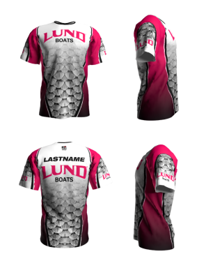 Personalized Lund Short Sleeve Jersey (Style 7)