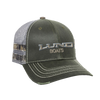 Distressed Mossy Oak Camo Hat