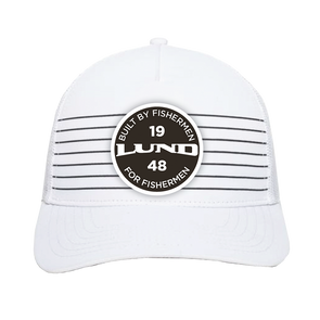 Lund Striped Front Panel Hat