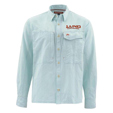 Mens Simms Marle Long Sleeve Guide Shirt