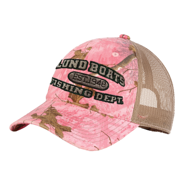 Ladies Camo Mesh Back Hat