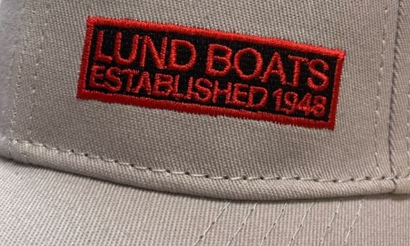 Lund Boats Cotton Twill Side Logo Hat