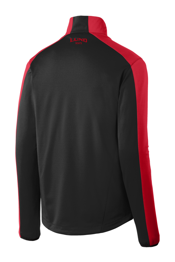 Mens Colorblock Soft Shell Jacket