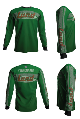 Personalized Lund Long Sleeve Jersey (Style 4)