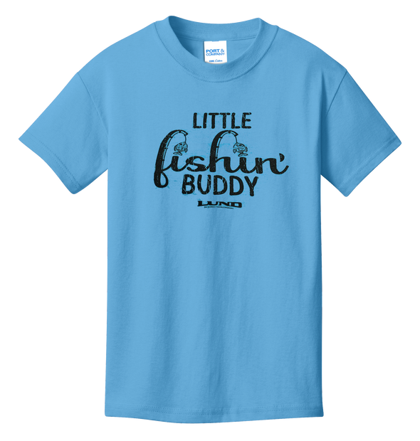 Kids Little Fishing' Buddy Tee