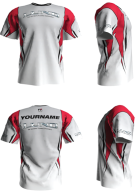 Personalized Lund Short Sleeve Jersey (Style 3)