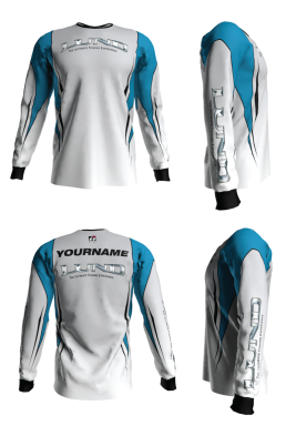Personalized Lund Long Sleeve Jersey (Style 3)
