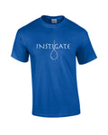 Blue Short Sleeve Instigate T-Shirt