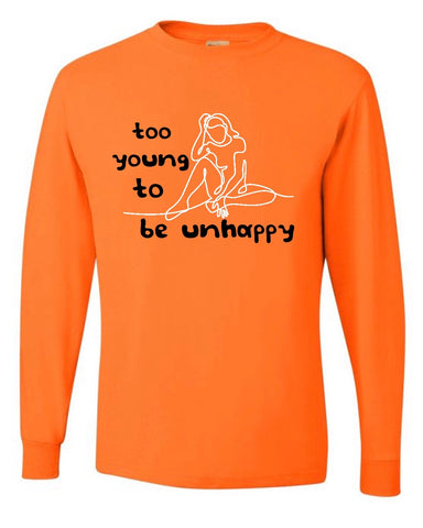 Orange Too Young Longsleeve