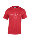 Red Short Sleeve Instigate T-Shirt