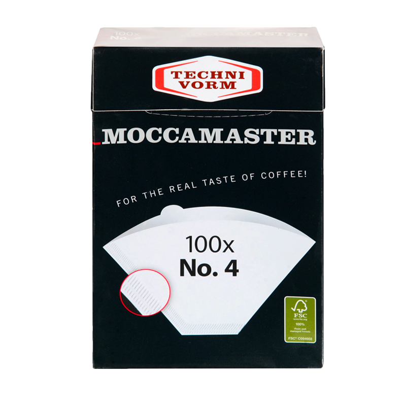 Moccamaster Filter Papers No. 4