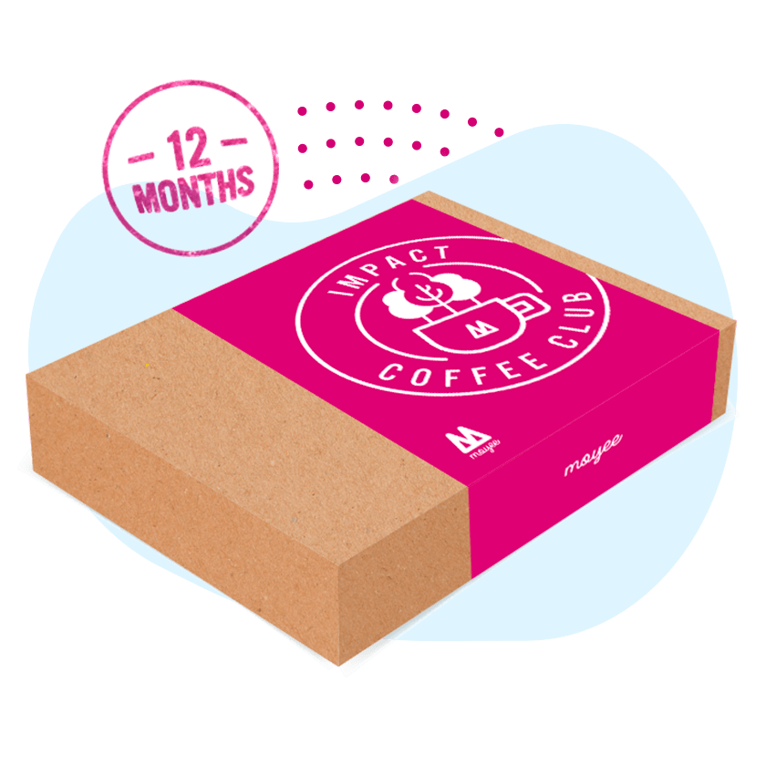 Gift Coffee Subscription: 12 Months