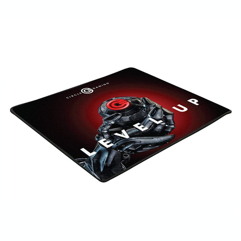 Circle Rapid X - High Speed Glossy Gaming Mouse Pad Mat (Medium Size, Black)