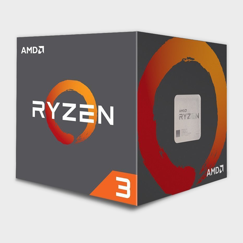 AMD - Cores 4 Threads 4 Processor RYZEN-3-1300X CPU