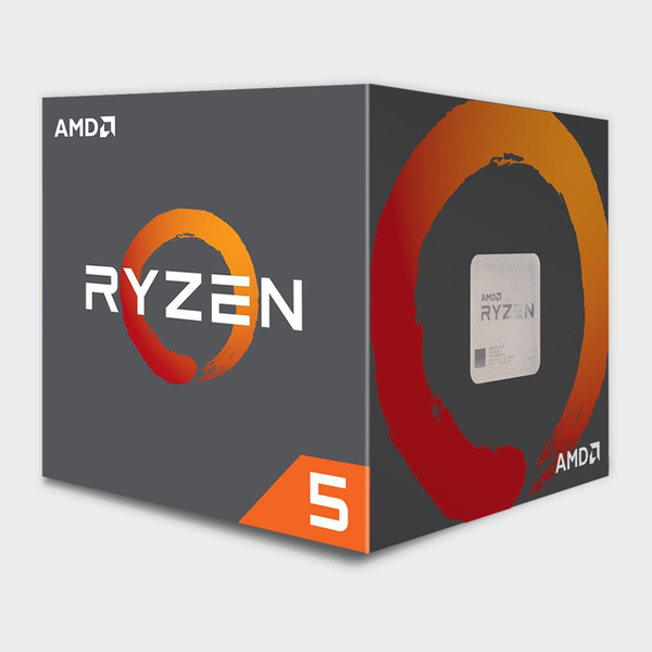 AMD - Cores 6 Threads 12 Processor RYZEN-5-1600 CPU
