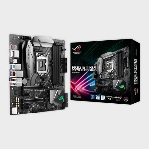 Asus- ROG STRIX Z370-G GAMING Motherboard