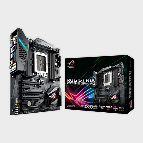 Asus- ROG STRIX X399-E GAMING AMD Ryzen Threadripper Motherboard