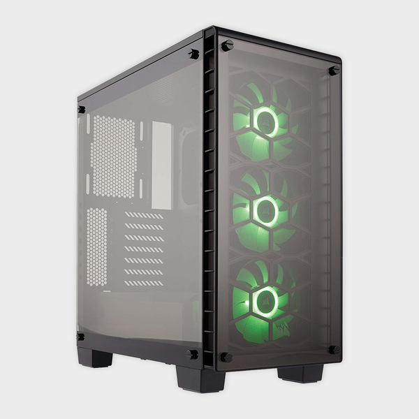 CORSAIR - CABINET (CC-9011101-WW) CRYSTAL SERIES 460X MID TOWER