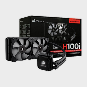 CORSAIR - H100i Hydro Series Extreme Performance Liquid CPU Cooler