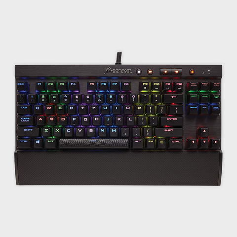 Corsair - k65 lux rgb compact mechanical keyboard (ch-9110010-na)